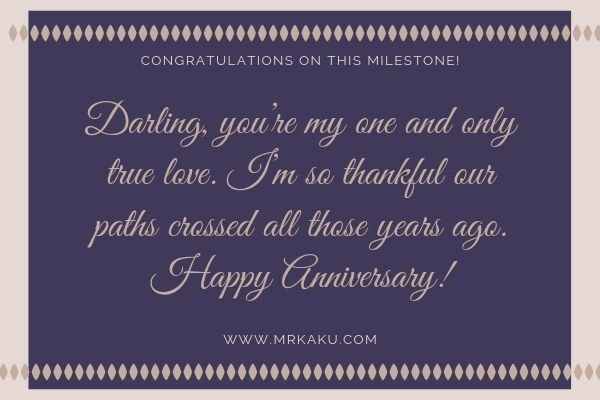 Him anniversary for our poems on Happy Anniversary